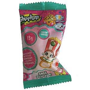 Doce Pirulito Shopkins Anel Pop Fun Unitario Sortido 4073