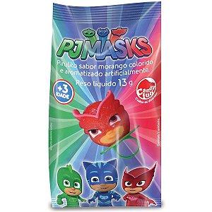 Doce Pirulito Anel Fun Pop Pj Masks Unitario Sortido 4302