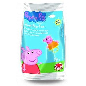 Doce Pirulito Anel Fun Pop Peppa Pig Unitario Sortido 4303