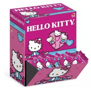 Doce Pirulito Anel Pop Fun Hello Kitty Caixa com 32 Dtc 4304