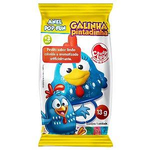 Doce Pirulito Anel Pop Fun Galinha Pintadinha Unitario 4981