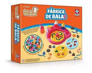 Brinquedo Fabrica De Balas Estrela Faz De Verdade Completa