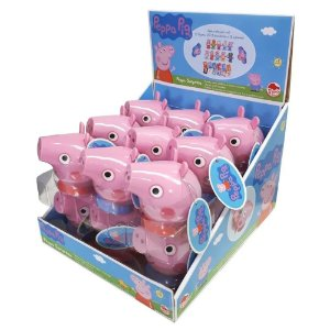 Doce Pastilha e Surpresa Peppa Pig Caixa com 18 Sortido 4449