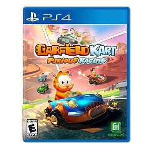Jogo Mídia Física Garfield Kart Furious Racing Para Ps4