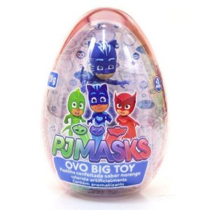 Doce e Figura Pj Masks Ovo Big Toy Unitario Sortido Dtc 4999