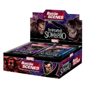 Box Booster Marvel Battle Scenes Despertar Sombrio da Copag