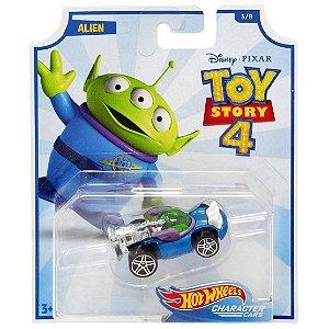 Veiculo Hot Wheels Disney Toy Story 4 Alien da Mattel Gcy52