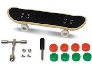 Brinquedo Lacrado New Skate De Dedo Extremo Radical Dtc 3752