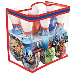 Brinquedo Jogo de Boliche Marvel Os Vingadores da Lider 2151