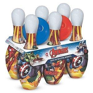 Brinquedo Jogo de Boliche Infantil Os Vingadores Lider 2423