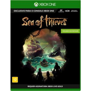 Jogo Novo Midia Fisica Sea of Thieves Original para Xbox One
