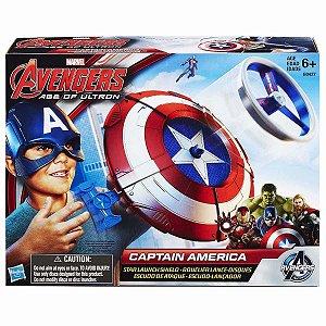 Marvel Avengers Capitao America Escudo Lançador Hasbro B0427