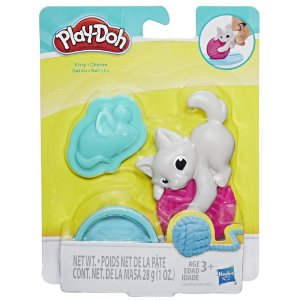 Massinha Play Doh Mini Mascotes Kitty Gatinho Hasbro E2124
