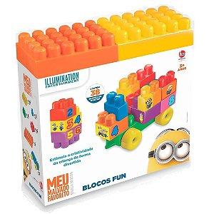 Brinquedo Blocos de Montar Os Minions Blocos Fun Lider 2789