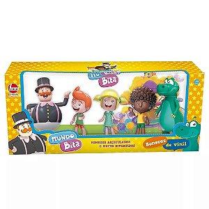 Brinquedo Bonecos de Vinil Mundo Bita Kit com 5 Figuras 2732