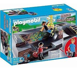 Playmobil Raro Maleta Esportes Radicais Pista Skate 5933