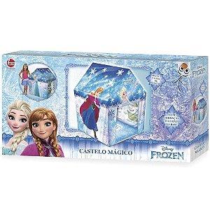 Brinquedo Casinha Infantil Castelo Magico Frozen Lider 2503