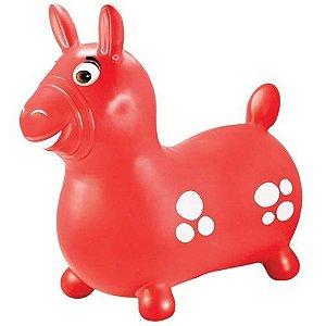 Brinquedo Infantil Cavalinho Upa Upa Simples Vermelho 400