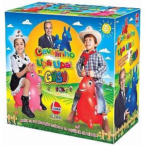 Brinquedo Infantil Cavalinho Upa Upa do Gugu Rosa Lider 500