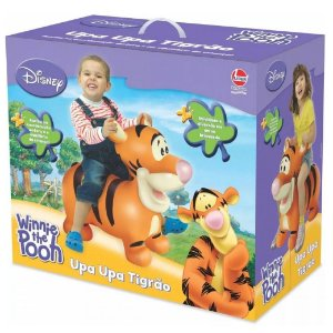 Brinquedo Infantil Cavalinho Upa Upa Disney Tigrao Lider 630
