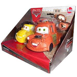 Brinquedo Veiculo Disney Pixar Carros Luigi e Mate Lider 629