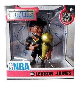 Figura Miniatura Metalfigs Lebron James Nba Oficial Lacrado.