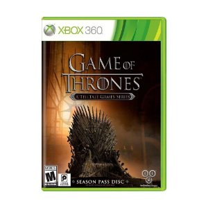 Jogo Game Of Thrones A Telltale Games Series Para Xbox 360