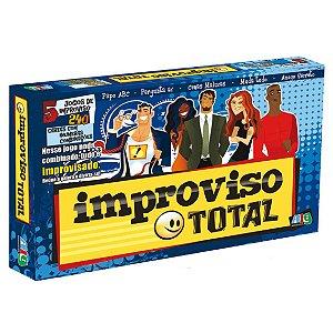 Jogo de Tabuleiro Novo Improviso Total Nig Brinquedos 1148