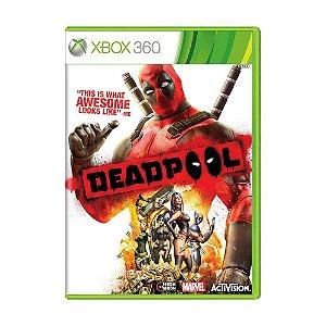 Jogo Novo Lacrado Deadpool The Game Para Xbox 360 Ntsc