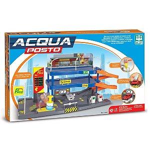 Brinquedo Acqua Posto Petrol Lava Rapido Nig Brinquedos 0325