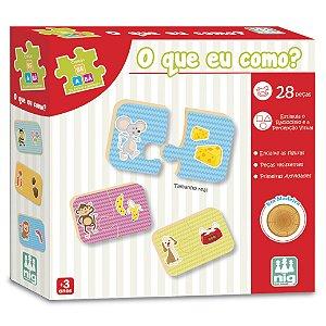 Brinquedo Jogo de Encaixe O Que Eu Como Nig Brinquedos 0411