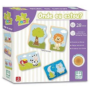 Brinquedo Jogo De Encaixe Onde Eu Estou Nig Brinquedos 0412
