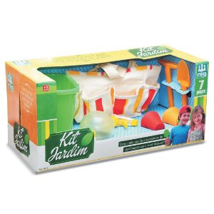 Kit Jardim Infantil com Acessorios da Nig Brinquedos 0613