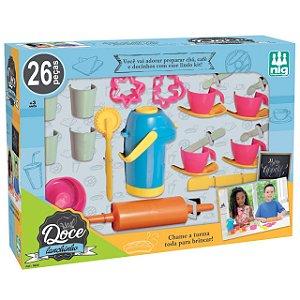 Kit Doce Lanchinho Infantil com 26 Peças Nig Brinquedos 0626