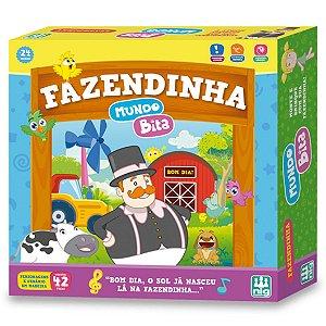Playset Fazendinha Mundo Bita 42 Peças Nig Brinquedos 0693