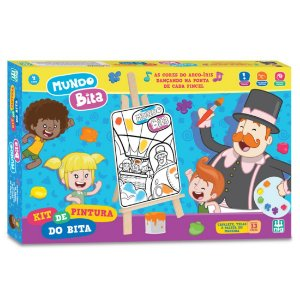 Kit de Pintura Infantil Mundo Bita da Nig Brinquedos 0694