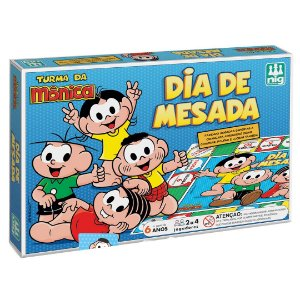 Jogo de Tabuleiro Infantil Dia de Mesada Nig Briquedos 0765