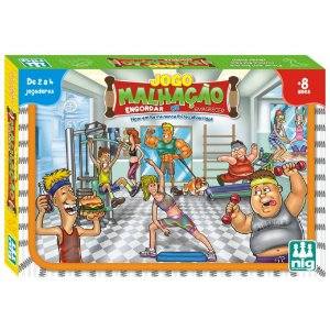 Jogo de Tabuleiro Infantil Malhaçao da Nig Brinquedos 1178