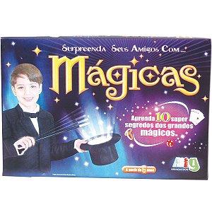 Jogo Divertido Kit de Magicas Infantil Nig Brinquedos 1200
