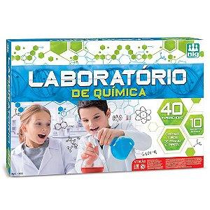 Kit Experiencias Laboratorio de Quimica Nig Brinquedos 1633