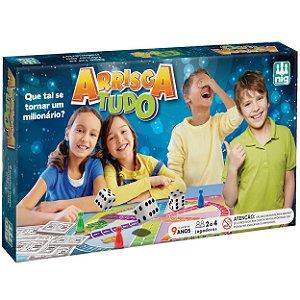 Jogo de Tabuleiro Infantil Arrisca Tudo Nig Brinquedos 5022