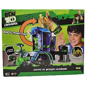 Brinquedo Kit Ben 10 Centro de Mutação Alienigena Sunny 0777