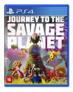 Jogo Journey To The Savage Planet Ps4 Mídia Física Lacrado