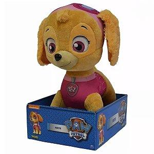 Brinquedo Pelucia Patrulha Canina Skye 30cm da Sunny 1342