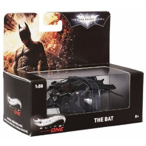 Hot Wheels Batman Nave The Bat Escala 1/50 da Mattel Bcj82