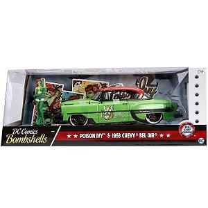 Veiculo e Figura Poison Ivy e 1953 Chevy Bel Air Jada 30455
