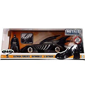 Veiculo e Figura DC Batman Forever Batmovel Jada Toys 98036