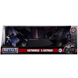 Veiculo e Figura Batman e Batmovel Serie Animada Jada 30916