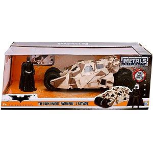 Veiculo e Figura Batman Dark Knight Batmovel 1/24 Jada 98543