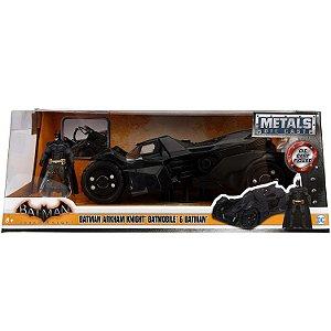 Veiculo e Figura Batman Arkham Knight Batmovel Jada 98037